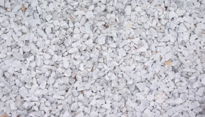 Marmor – Carrara weiß Splitt 12-16mm