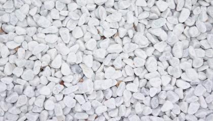 Marmor – Carrara weiß Kies 15-30mm