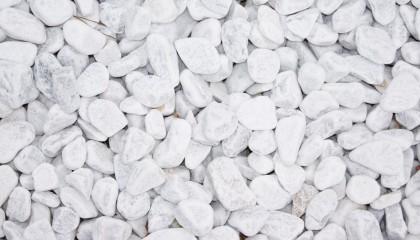 Marmor – Carrara weiß Kies 25-40mm