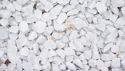 Marmor – Carrara weiß Splitt 30-50mm