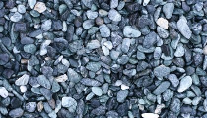 Marmor – Alpen grün Kies 15-25mm