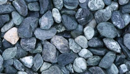 Marmor – Alpen grün Kies 30-60mm