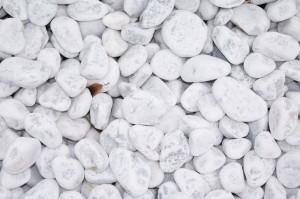 Marmor - Carrara weiß Kies 30-60mm