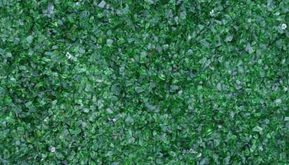 Glassplitt dunkelgrün 5-10mm