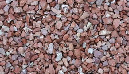 Marmor – Marmorsplitt rot weiß 20-30mm