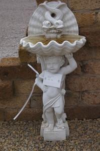 Figur - Wandbrunnen