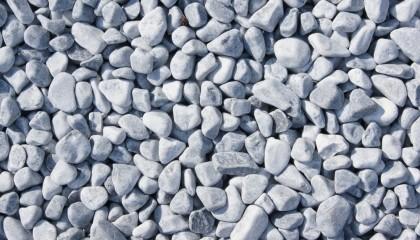 Marmor – Eisblau Kies 16-25mm