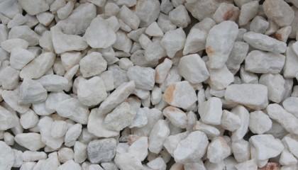 Marmor – kristallweiß Splitt 10-30mm