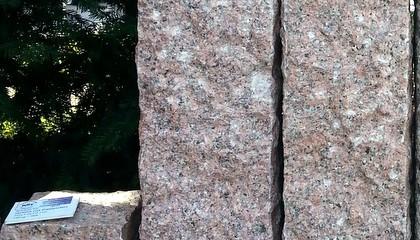 Palisaden – Granit rot