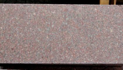 Blockstufen – Granit rot