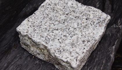 Pflastersteine – Granit grau 10x10x5cm