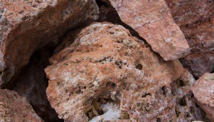 Ziersteine – Bella rossa 15-30 cm Bruchstein