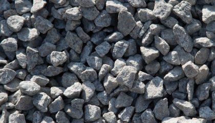 Granit – Granitsplitt weiss-grau 16-22mm