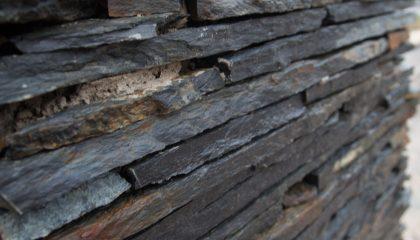 Polygonalplatten – Schiefer Oxidiert