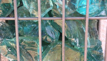 Grobschlag – Glasbrocken Türkis