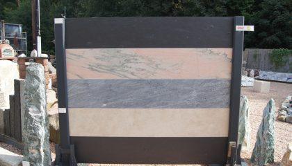 Sichtschutz Schiefer / Marmor
