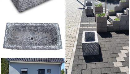 Blumentrog – Blaustein