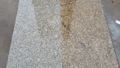 Natursteinplatte – Granit gelb